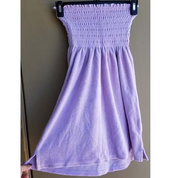 34ef3df1777 Juicy Couture Terry Cloth Tube Dress